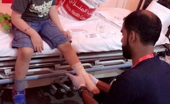 مستشفى الخفجي يشارك بإسعافات أولية وحملات توعوية بـ«كلنا الخفجي»