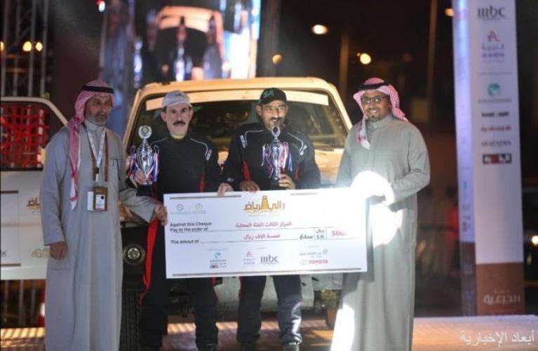 ابن الخفجي الشمري يحقق الثالث في بطولة المملكة للراليات الصحراوية 2019