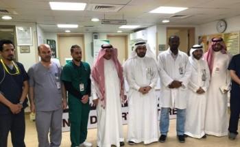 الهزاع يقف على استعدادات مستشفى الخفجي العام لمواجهة «كورونا المستجد»