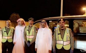 ديوانية الريان بالخفجي تقدم دعمها لرجال الأمن في الميدان