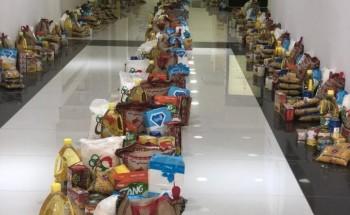 جاليات الخفجي تستقبل السلال المساهمة في مبادرة «وقاية وتوعية وإفطار»