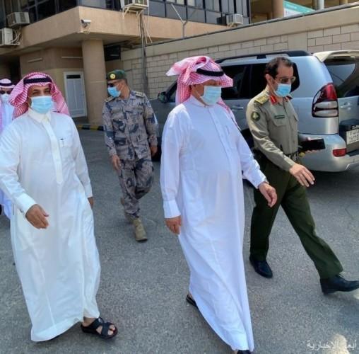 الهزاع يتفقد منفذ الخفجي مع بدء قرار السماح بدخول مواطني مجلس التعاون
