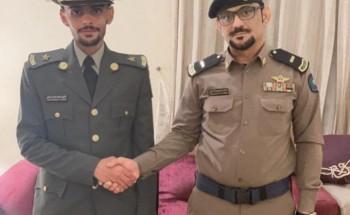البارقي يتخرج برتبة «ملازم» من الكلية الحربية