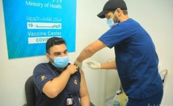 بالصور.. مستشفى الخفجي يقدم الجرعة الأولى من لقاح كورونا