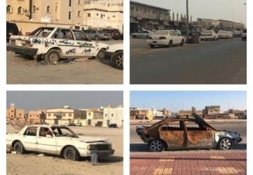 بلدية الخفجي تعتمد مشروع الاستفادة من السيارات التالفة (الهياكل) بالمحافظة