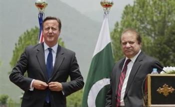بريطانيا وباكستان تتعهدان بالتصدي للارهاب