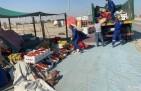بلدية الخفجي تنفذ حملات على الباعة الجائلين المخالفين