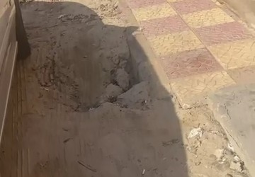 مقاول المياه بالخفجي يتجاهل إعادة سفلتت حفريات توصيل الصرف الصحي