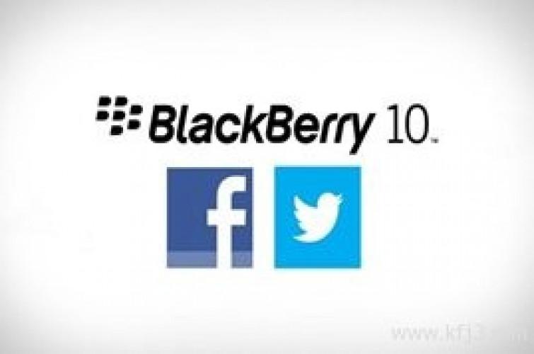 تحديث تطبيقي تويتر وفيسبوك لنظام بلاك بيري 10