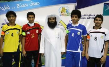 نادي الخفجي الموسمي يجري مراسم قرعة دوري أرامكو لأعمال الخليج لكرة القدم