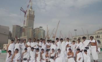رحلة نادي الخفجي الموسمي تنتهي من أداء العمرة وتتوجه لمدينة الطائف