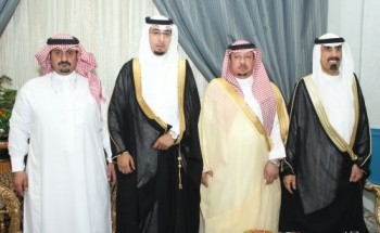 """هتاش الشمري يحتفل بزواج إبنه """"طارق"""""""