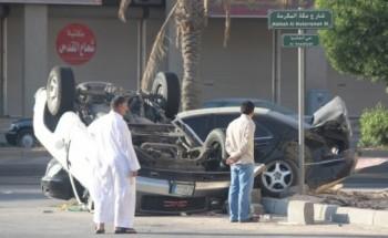 حادث في حي الخالديه بالقرب من صالونات الحلاقه