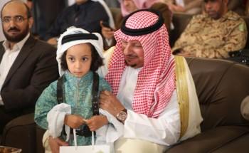 """عدسة """"أبعاد الخفجي"""" ترصد مشاركة الأطفال في أسبوع المرور الخليجي"""
