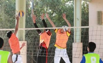 الشرق والنهضة في نهائي دوري كرة الطائرة على مستوى ثانويات الخفجي