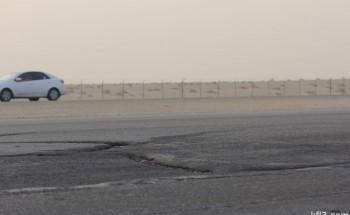 طريق «الخفجي – أبو حدرية» فِخَاخ مميتة على امتداد 160 كيلومتراً