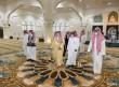 الهزاع والقحطاني يفتتحان مشروع صيانة وترميم جامع الملك عبدالعزيز بالخفجي