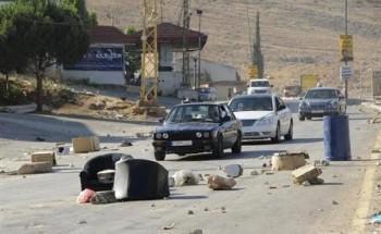 الجيش اللبناني يغلق منطقة البرلمان بعد احتجاجات