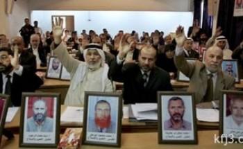 إسرائيل تعتقل 3 نواب فى المجلس التشريعى الفلسطينى