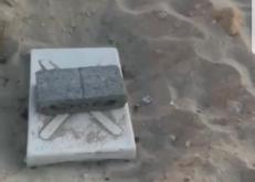مواطن يوثق «بالفيديو والصور» خطر خزان ماء مدفون بشاطيء الخفجي