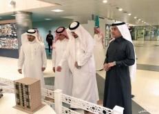 محافظ النعيرية يزور جامعة الإمام عبدالرحمن بن فيصل بالدمام