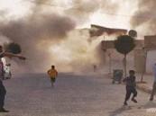 جنود سوريون يُعَالجون فى العراق والاشتباكات تطال الأراضى العراقية