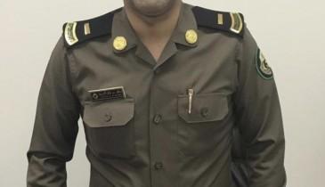 ترقية نواف الحربي إلى رتبة رئيس رقباء