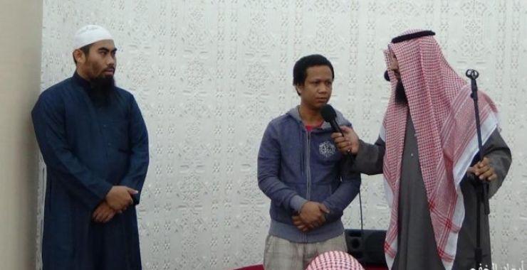 في ثلاثة أيام .. فلبينيان يشهران إسلامهما في تعاوني الخفجي
