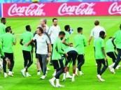خمسة آلاف مشجع سعودي في المدرجات