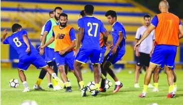 النصر يبدأ موسمه باختبار صعب أمام الجزيرة الإماراتي