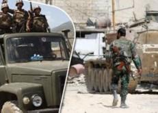 """الجيش السورى يواصل عملياته لتحرير بادية السويداء الشرقية من قبضة """"داعش"""""""