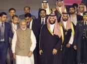 بيان مشترك بمناسبة زيارة ولي العهد إلى جمهورية الهند