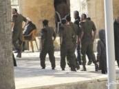 مستوطنون يقتحمون المسجد الأقصى بحراسة من قوات الاحتلال الإسرائيلى
