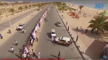 بالفيديو.. 167 طالب في سباق اختراق الضاحية بكورنيش الخفجي