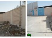 حملات البلدية الأسبوعية تنتهي من حي العزيزية وسوق الأغنام