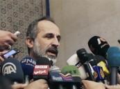 الخطيب يطالب واشنطن بحماية السوريين من قصف القوات السورية