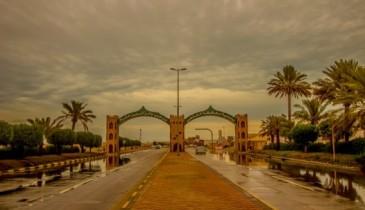 عدسة أبعاد الخفجي – روعة الأمطار ,تصوير – ناصر الزعبي