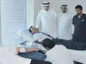 شيراتون الدمام ينظم مبادرة حملة تبرع الدم