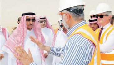 الأمير سعود: نعمل على استقطاب مزيد من الاستثمارات في رأس الخير