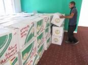 الحملة الوطنية السعودية تستكمل المرحلة الثانية لتوزيع السلال الرمضانية في سوريا