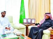 وزير الإعلام يستقبل سفيري الإمارات واليابان لدى المملكة