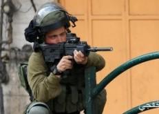 إصابة عشرات الفلسطينيين فى اشتباكات مع قوات الاحتلال بالضفة