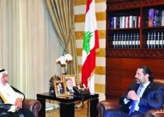رئيس الوزراء اللبناني ود. الربيعة يبحثان البرامج الإغاثية
