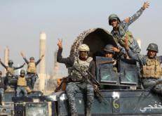 الحشد الشعبى العراقى يتوغل فى جزيرة الشرقاط بعد قيام داعش بإختطاف مدنيين