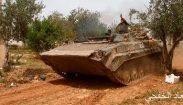 الجيش السورى يحرر قريتين فى ريف درعا الشمالى