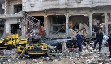 مقتل وإصابة 20 شخصا فى تفجير سيارة مفخخة شمالى حلب