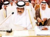 """أمير قطر يدعو لدعم دول """"الربيع العربي"""" وعدم الرهان على الفوضى"""