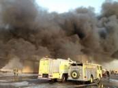 وحدات الاطفاء تسيطر على حريق بجدة ولا خسائر في الارواح