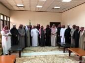 منسوبي محافظة الخفجي يحتفون بالهزاع