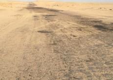 بالصور:مواطنون ل«أبعاد» طريق الخفجي حفرالباطن سيء جدا وغير صالح